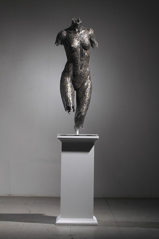 Скульптуры из цепей от Yeong-Deok Seo. Изображение № 8.