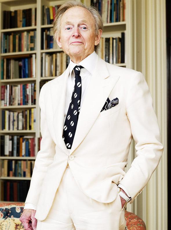 Быть Томом Вулфом или мужское искусство носить белый пиджак. Изображение № 1.