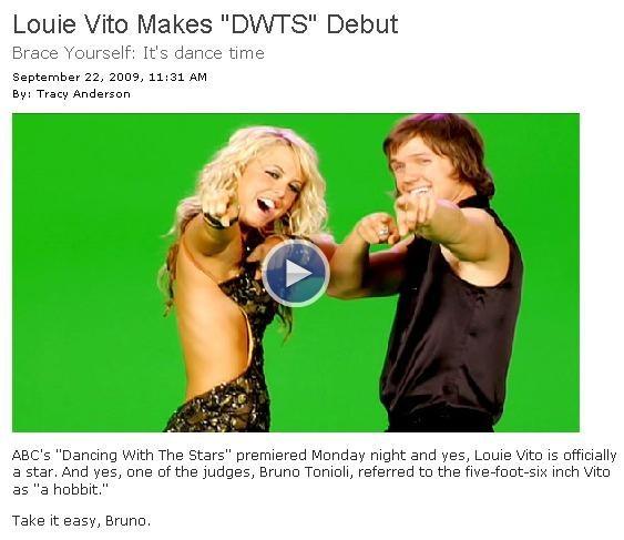 Сноубордист Louie Vito втелешоу «Танцы СоЗвездами». Изображение № 3.