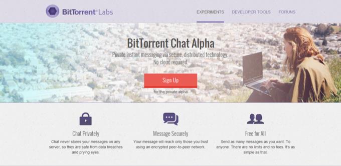 BitTorrent разрабатывает торрент-мессенджер. Изображение № 1.