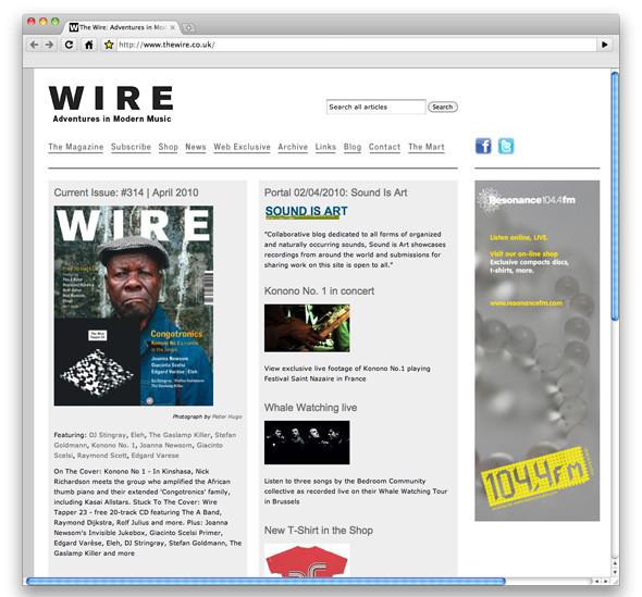 Школа музыкальной журналистики: The Wire. Изображение № 1.