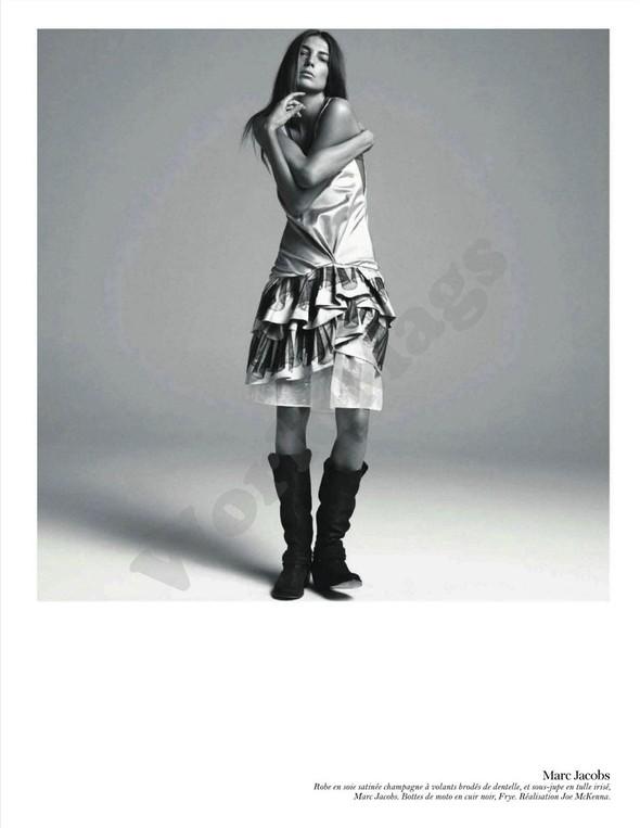 Съёмка: Дарья Вербова для французского Vogue. Изображение № 60.