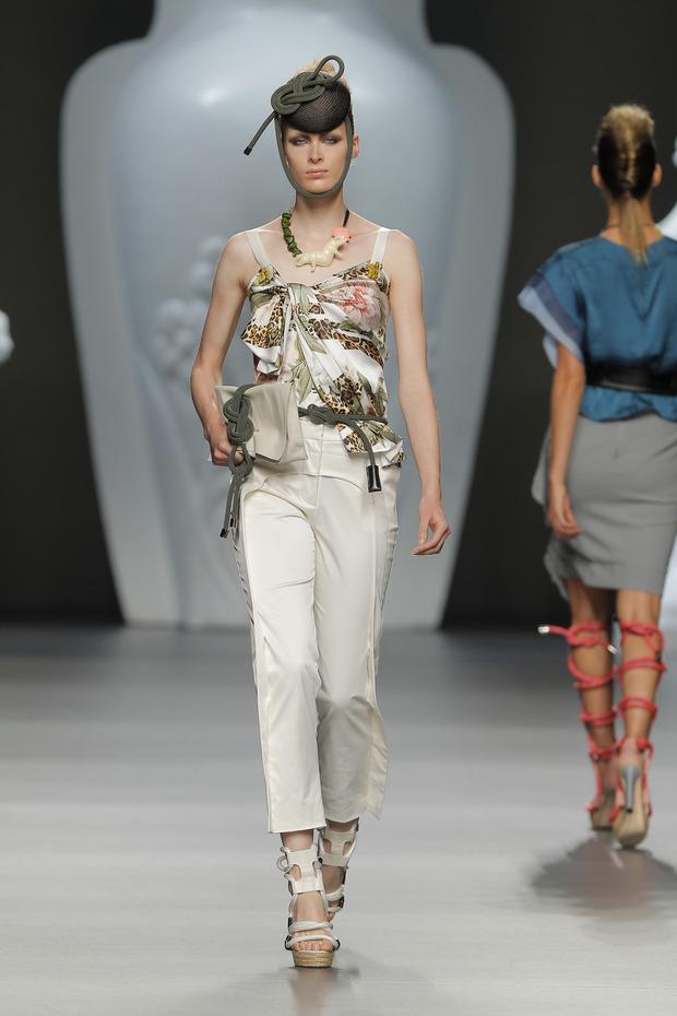 Madrid Fashion Week SS 2013: ANA LOCKING . Изображение № 11.