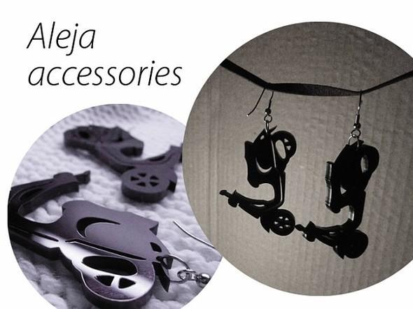 Aleja accessories - серьги из акрила. Сам себе дизайнер. Изображение № 8.