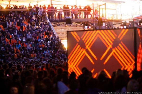 Концерт Apparatjik  на Стрелке Фото : zyalt. Изображение № 6.