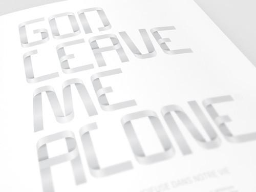 18 шрифтов дизайнерской группы Behance. Изображение № 12.