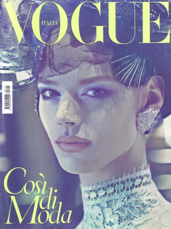 Vogue Italia March 2010. Изображение № 8.