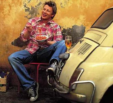 О Jamie Oliver в клубе LLL. Изображение № 1.