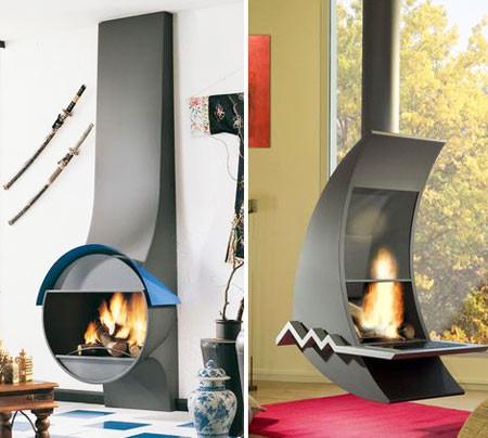 Настоящий огонь у вас дома. 12 вариантов каминов в жилых помещениях. Изображение № 5.