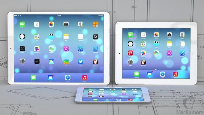 Визуализация 12,9-дюймового iPad авторства бюро CiccareseDesign. Изображение № 3.