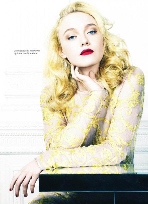 Съёмка: Дакота Фэннинг для Elle. Изображение № 5.