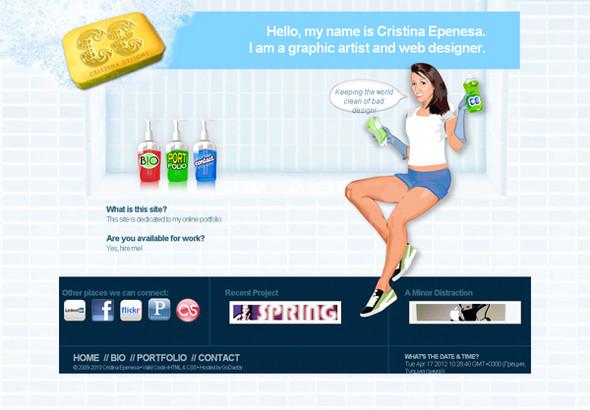 Персонажи в дизайне сайтов. Изображение № 31.