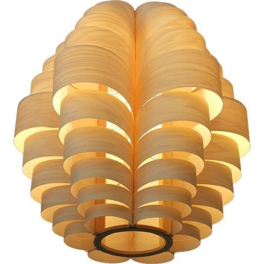 Скульптурные светильники из фанеры от Passion 4 Wood. Изображение № 7.