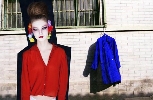 Fashion съемка одежды секонд - хенд. Изображение № 17.