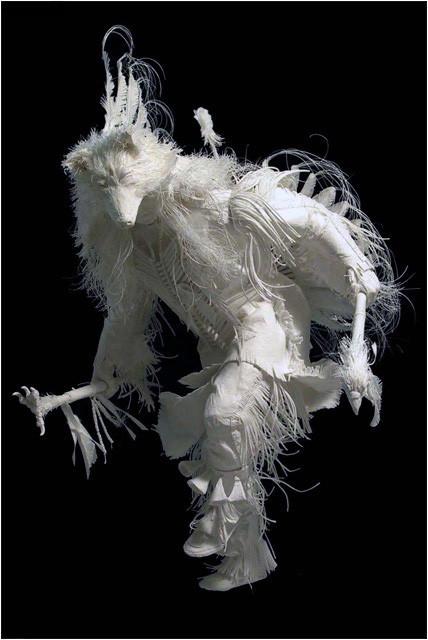 Бумажные скульптуры. Изображение № 19.
