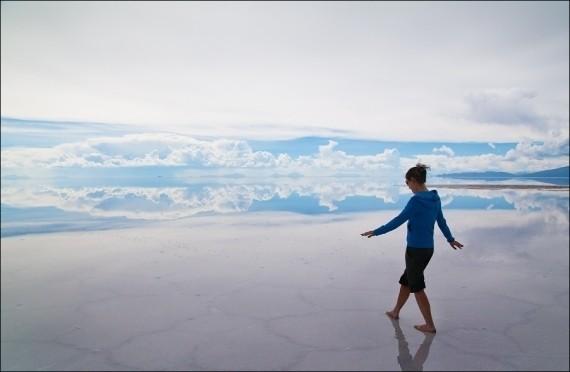 Изображение 2. Зеркало Земли - озеро Salar de Uyuni.. Изображение № 6.