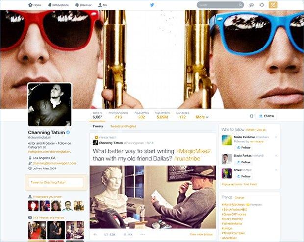 Twitter обновляет интерфейс веб-профилей. Изображение № 2.