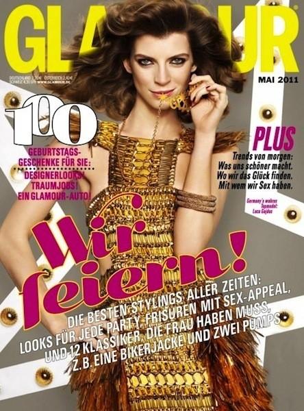 Коллекция Gucci SS 2011 появилась на 50 обложках журналов. Изображение № 24.