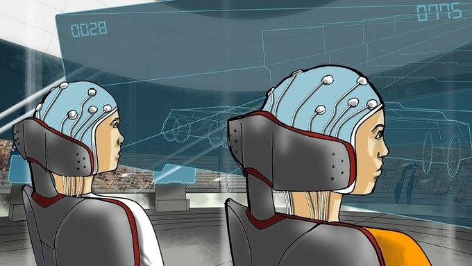 Состязание спортсменов, подключённых к нейрокомпьютерному интерфейсу. Изображение № 5.