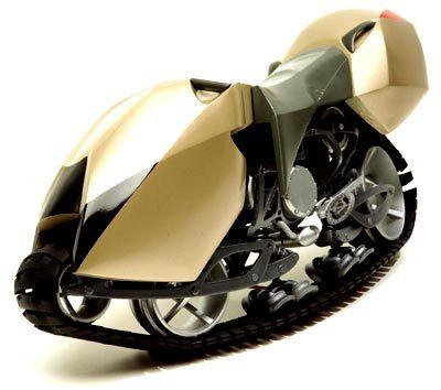 Гусеничные мотоциклы. Изображение № 2.