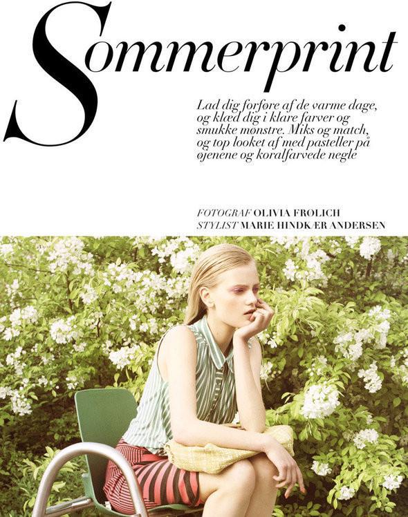 Изображение 1. Съёмки: Harper's Bazaar, Vogue, W и другие.. Изображение № 1.