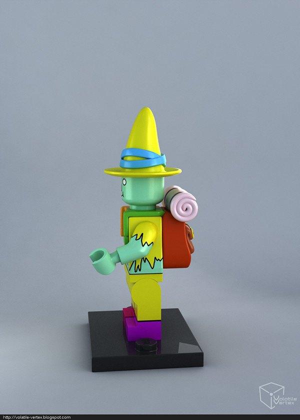 Концепт: персонажи Adventure Time в LEGO. Изображение № 11.