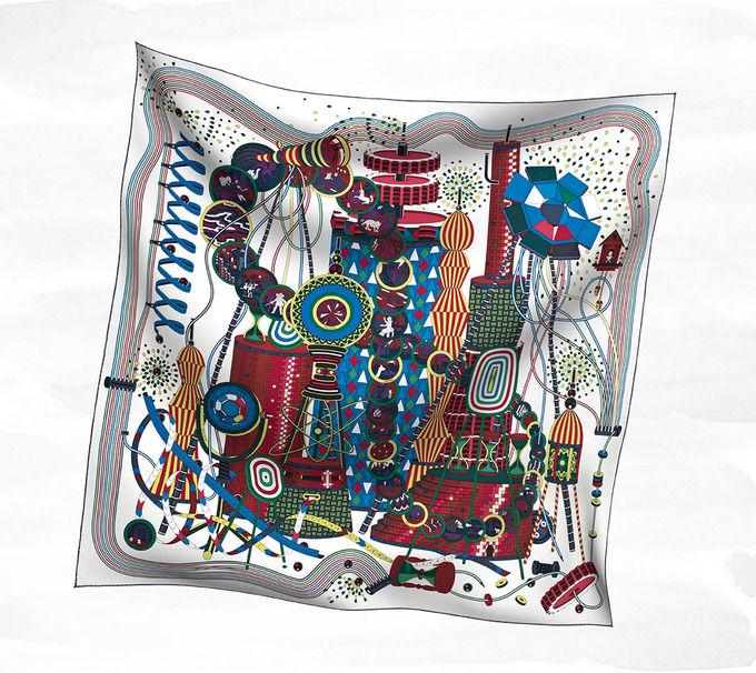 Классические шарфы Hermes. Изображение № 5.