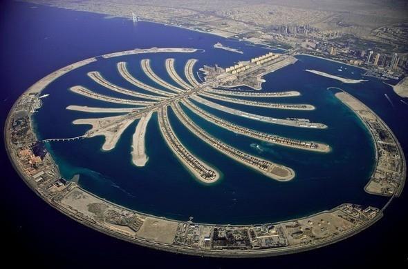 Остров Пальма Джумейра в Дубае. ОАЭ. Изображение № 40.
