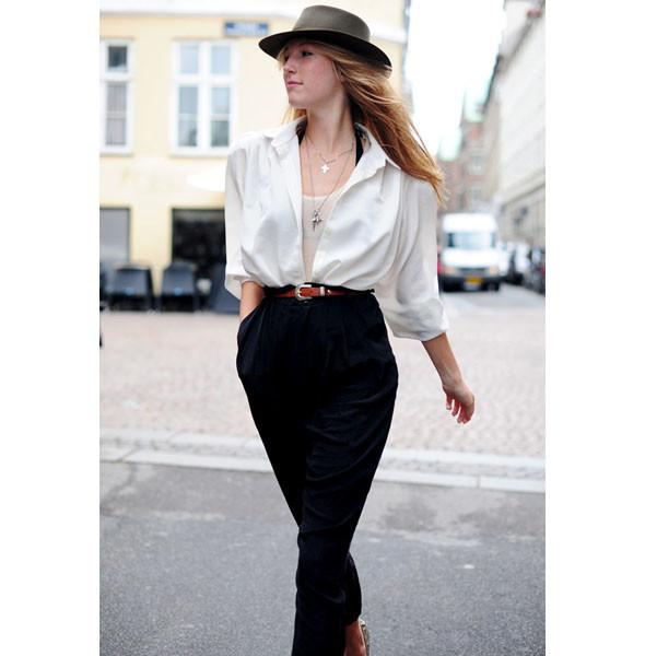Луки с недель моды в Копенгагене и Стокгольме. Изображение № 32.