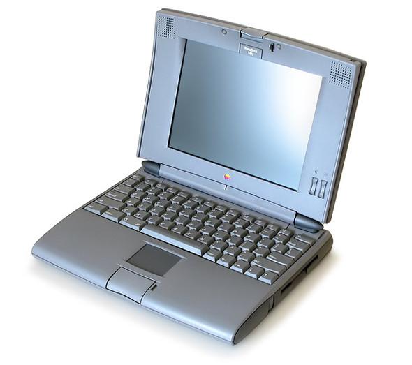 Эволюция дизайна ноутбуков apple 1989 – 2008. Изображение № 5.