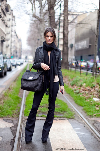 Нерабочее время: Блоги об уличном стиле моделей. Изображение № 3.
