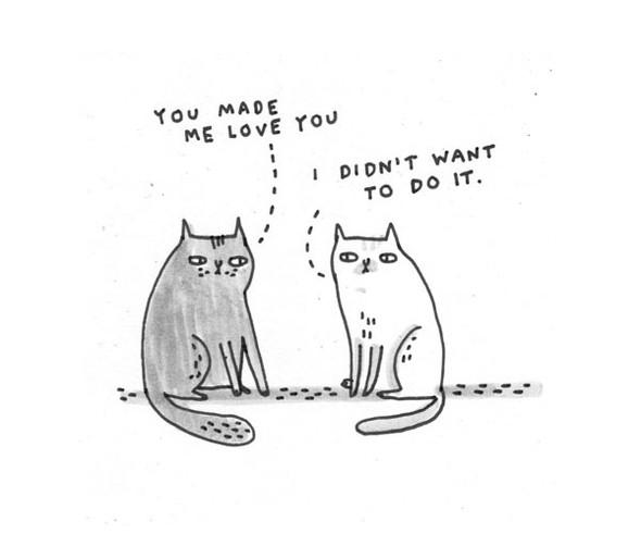 Gemma Correll и её коты. Изображение № 3.