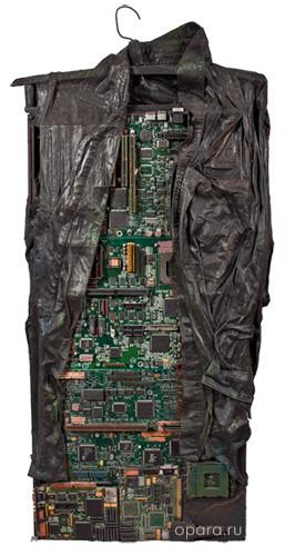 """Выставка Владимира Опары """"E-CRUCIFIX"""". Изображение № 1."""