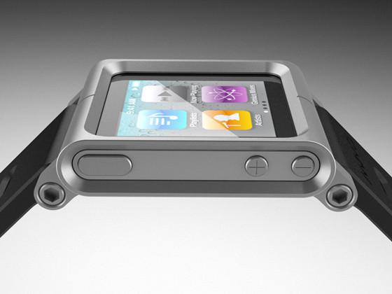 Элегантное превращение iPod nano в эффектные наручные часы. Изображение № 12.
