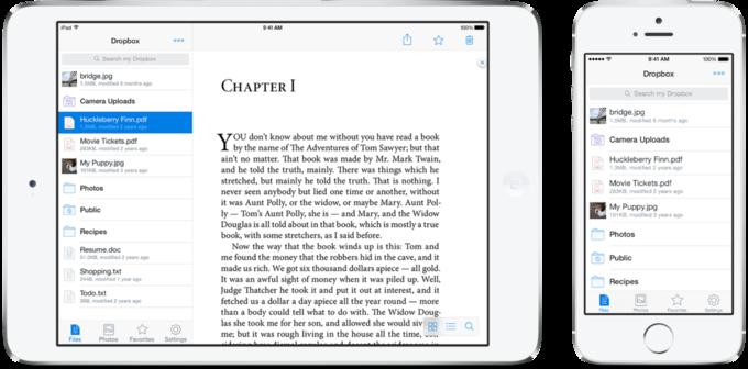 Dropbox обновил дизайн приложения для iOS. Изображение № 2.