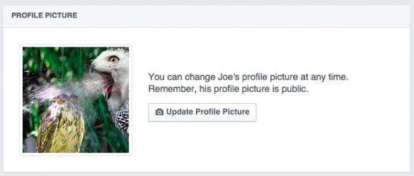как в facebook поменять аватарку: