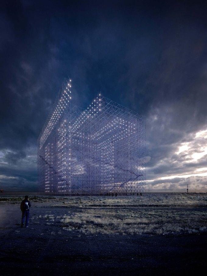 Архитектор представил проект памятника идеям Эль Лисицкого. Изображение № 3.