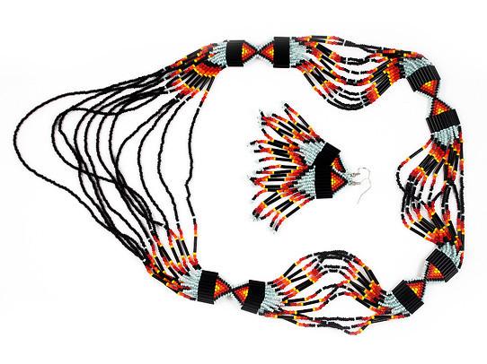 Украшения из бисера в индейском стиле. Изображение № 12.