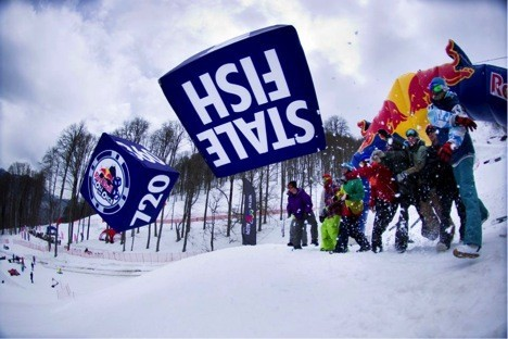 Rosa Khutor Snow Camp от Quiksilver - главный снежный лагерь страны!. Изображение № 11.
