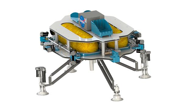 Маленький аппарат для работы на астероидах. Изображение № 3.