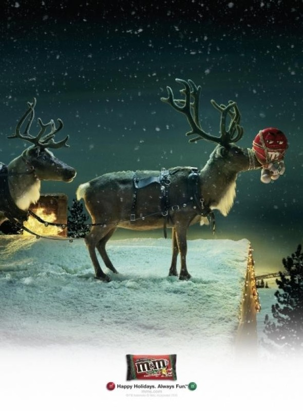 69 рождественских рекламных плакатов. Изображение № 50.