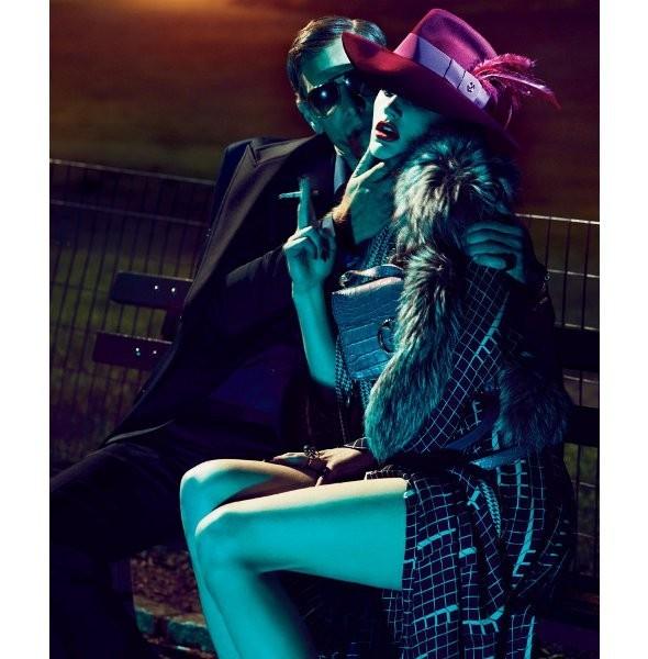 Съёмка: Саския де Брау в Gucci для Interview. Изображение № 3.