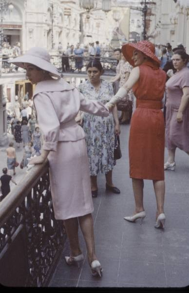 Dior in Moscow, 1959 год. Изображение № 10.