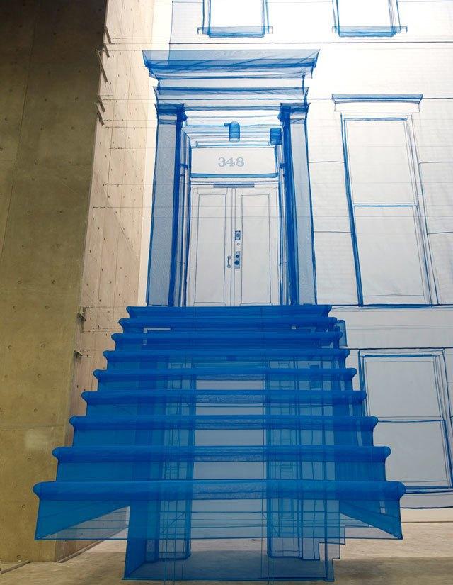 Корейский художник создаёт физические 3D-модели интерьеров. Изображение № 4.