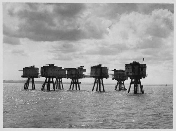 Оборона Лондона. Монсельские форты. Изображение № 1.