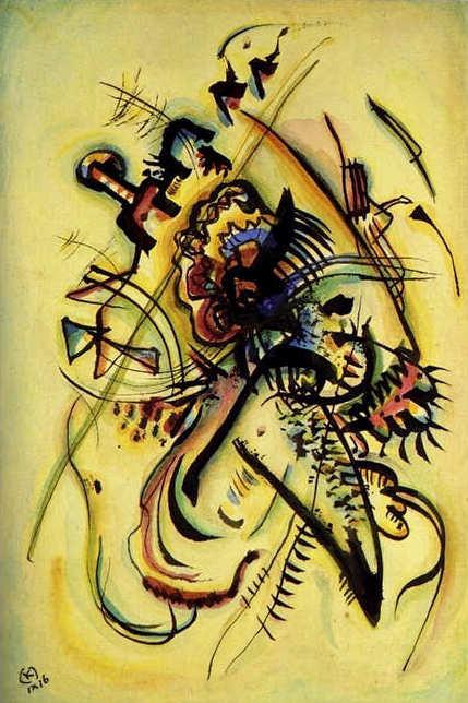 Коллекция работ В.В. Кандинского. Изображение № 40.