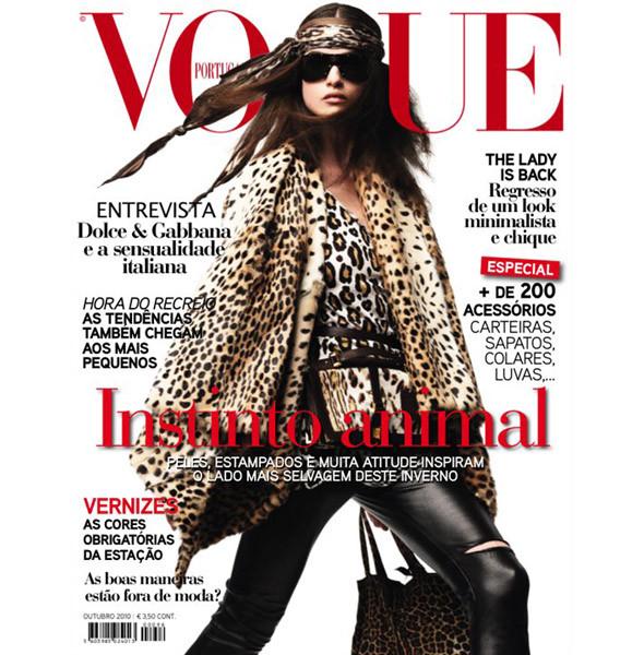 5 обложек октябрьских номеров Vogue: Америка, Британия, Китай и другие. Изображение № 4.