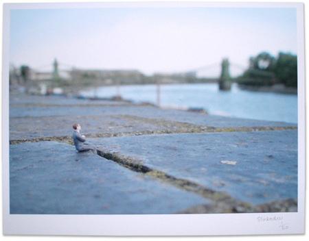 Большая жизнь маленьких людей от Slinkachu. Изображение № 1.