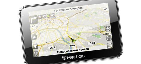 Автомобильный навигатор Prestigio с ОС Android. Изображение № 1.