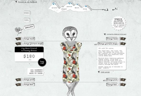 Ручная работа. Дизайн сайтов с рисованными элементами. Изображение № 3.